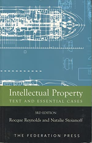 Intellectual Property : Text and Essential Cases.: Reynolds, Rocque and