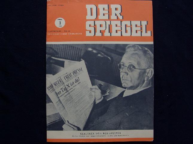 Augstein rudolf red zvab for Spiegel erscheinungstag
