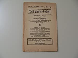 Das vierte Gebot - Volksstück in 4: Anzengruber, Ludwig