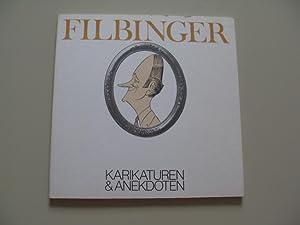 FILBINGER KARIKATUREN & ANEKDOTEN: Staatsministerium Baden-Württemberg(Hrsg.)