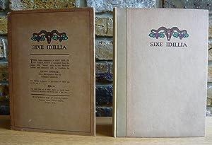 Sixe Idillia: Theocritus. Gribble, Vivien
