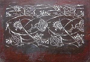 Katagami Japanese Stencil: Edo Craftsman