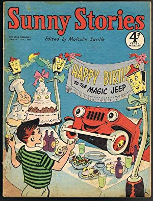 Sunny Stories: Happy Birthday to the Magic Jeep (Mar 11th, 1957)