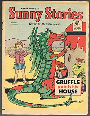 Sunny Stories: Gruffle Paints His House (Jun 10th, 1957)