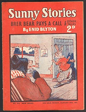 Sunny Stories: Brer Bear Pays a Call & Other Tales (No. 514 New Series: Aug 24th 1951)