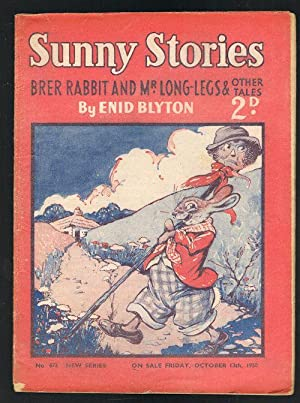 Sunny Stories: Brer Rabbit and Mr Long-Legs & Other Tales (No. 493: New Series: Oct 13th, 1950)