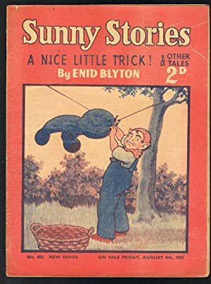 Sunny Stories: A Nice Little Trick! & Other Tales (No. 488: New Series: Aug 4th, 1950)
