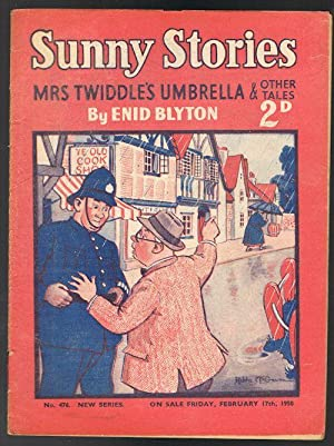 Sunny Stories: Mrs Twiddle's Umbrella & Other Tales (No. 476: New Series: Feb 17th, 1950)