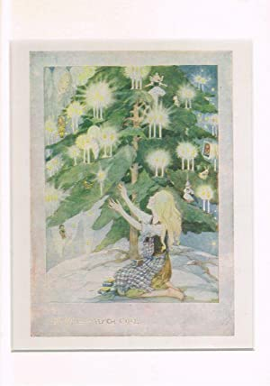 The Little Match Girl (Mounted Illustration from: ANDERSON, Anne