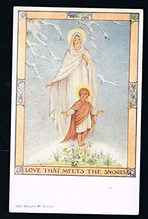 Love That Melts the Snows Postcard: TARRANT, Margaret W.