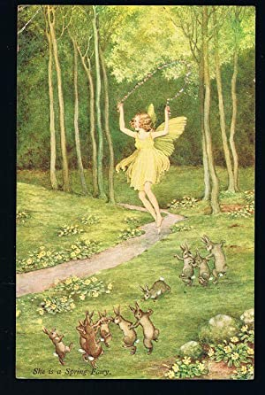 She is a Spring Fairy - Elves and Fairies Series 74