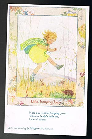 Little Jumping Joan Postcard: TARRANT, Margaret W.