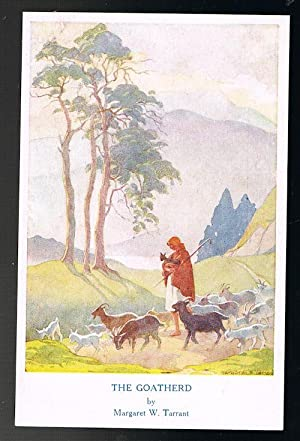 The Goatherd Postcard - Out o'Doors Series: TARRANT, Margaret W.