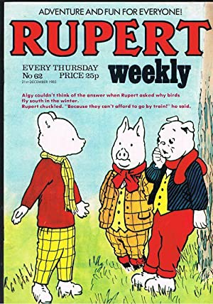 Rupert Weekly No.62 (21st Dec 1983)