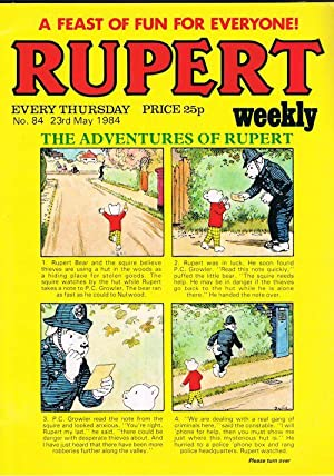 Rupert Weekly No.84 (23rd May 1984)