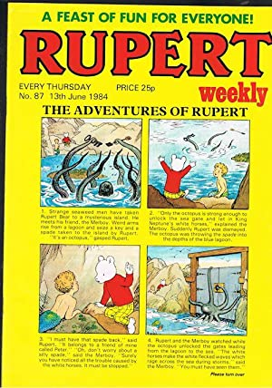 Rupert Weekly No.87 (13th June 1984)
