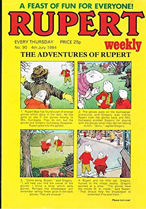 Rupert Weekly No.90 (4th July 1984)