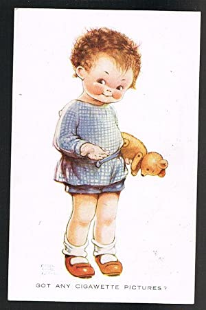 Got Any Cigawette Pictures Teddy Bear Postcard