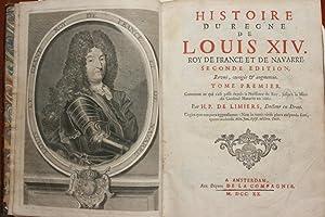 Histoire du règne de Louis XIV. Roy: H.P. de Limiers