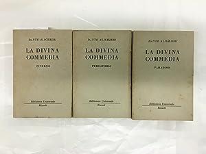 La Divina Commedia Paradiso, Purgatorio, Inferno: Alighieri, Dante