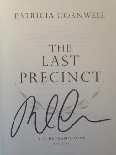 The Last Precinct (SIGNED 1ST EDITION/1ST PRINTING)
