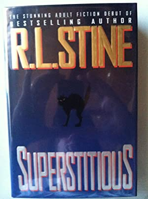 Superstitious (1st edition/1st printing): R.L. Stine