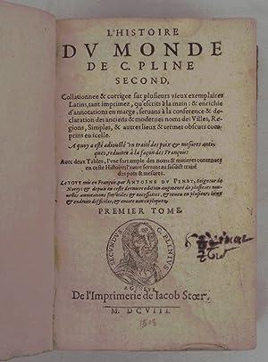 L Histoire du Monde de C. Pline: Plinio el Viejo