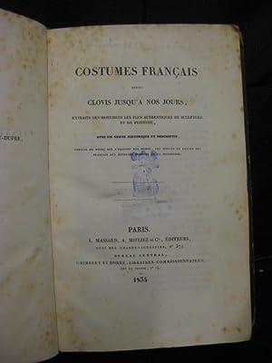 Costumes français depuis Clovis jusqu a nos