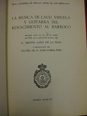Discursos en la Real Academia de Bellas Artes de San Fernando sobre música:] Del viol&iacute...