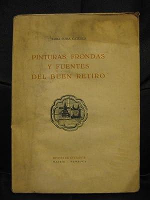 Pinturas, frondas y fuentes del Buen Retiro: María Luisa Caturla