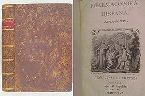 Pharmacopoea Hispana. Editio quarta