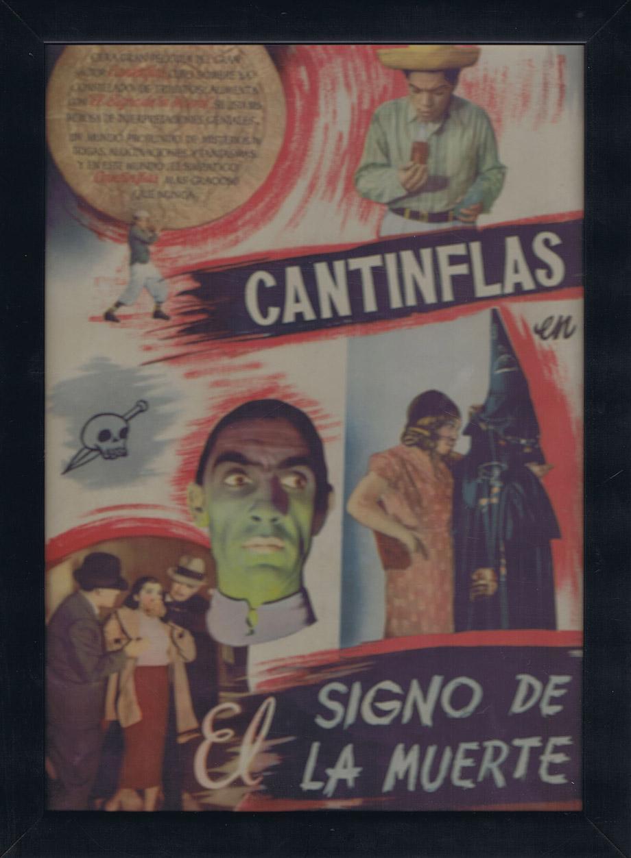 CARTEL DE LA PELICULA EL SIGNO DE LA MUERTE - DIRECTOR: CHANO URUETA ...