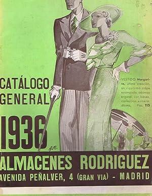 CATALOGO GENERAL DE ALMACENES RODRIGUEZ. Madrid