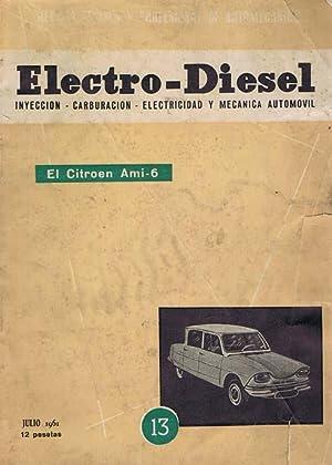 ELECTRO-DIESEL: nº 13, Revista Tecnica y profesional de automecanica: VV. AA.