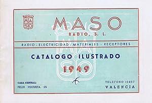 CATALOGO COMERCIAL MASO RADIO, S.L. - MODELOS AÑO 1949 - VALENCIA