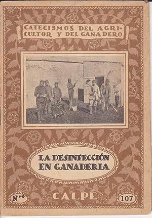 LA DESINFECCION EN GANADERIA: HUERTA, Andrés