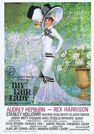 MY FAIR LADY (Mi Bella Dama) - Director: George Cukor - Actores: Audrey Hepburn, Rex Harrison