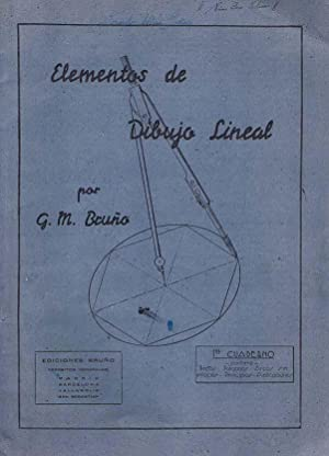 ELEMENTOS DE DIBUJO LINEAL. Primer cuaderno: rectas, poligonos, arcos sin enlaces, principios y ...
