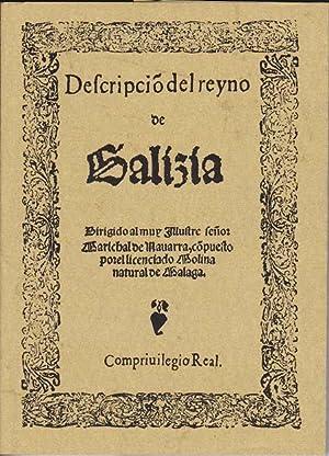 DESCRIPCION DEL REINO DE GALICIA: LICENCIADO MOLINA - Bartolomé Sagrario de Molina