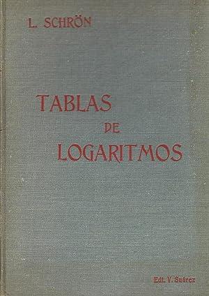 TABLAS DE LOGARITMOS: SCHRÖN, L.