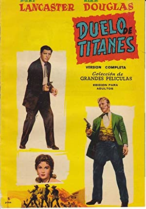 DUELO DE TITANES. Peliculas Famosas, nº 14 (Version completa). Burt Lancaster, Kirk Douglas, ...