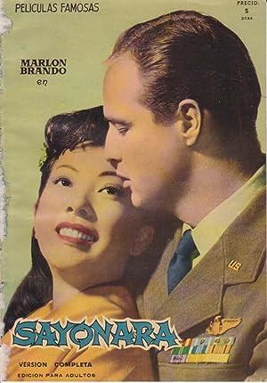SAYONARA. Peliculas Famosas, nº 2 (Version completa). Marlon Brando