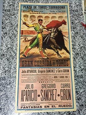 PLAZA DE TOROS TARRAGONA - Fiesta de la Exaltación del Trabajo - Sábado, 18 de Julio ...