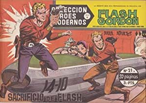 FLASH GORDON, Serie B, nº 21: El sacrificio de Flash - Dolar