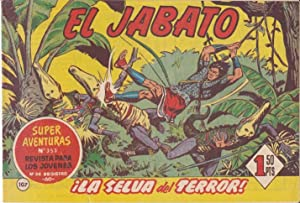 EL JABATO, Nº 107 (Super Aventuras, nº
