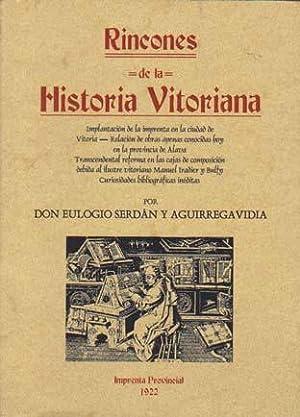 RINCONES DE LA HISTORIA VITORIANA: Implantación de: SERDAN AGUIRREGAVIDIA, Eulogio