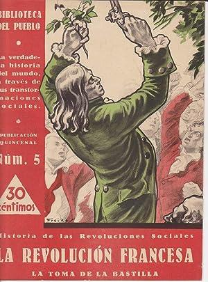 HISTORIA DE LAS REVOLUCIONES SOCIALES, Nº 5:
