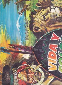 VIDA Y COLOR - Album Editorial Albumes Españoles - Incompleto