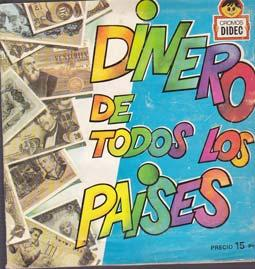 DINERO DE TODOS LOS PAISES - Album Difusora de cultura - Incompleto