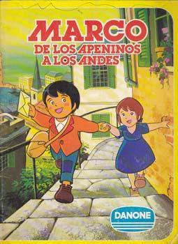 MARCO DE LOS APENINOS A LOS ANDES - Album Danone - Incompleto ...